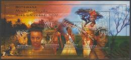 BOTSWANA - 1999 Miss Universe Souvenir Sheet. Scott 683a. MNH - Botswana (1966-...)