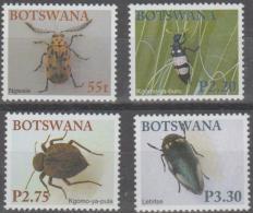 BOTSWANA - 2003 Beetles. Scott 770-773. MNH - Botswana (1966-...)