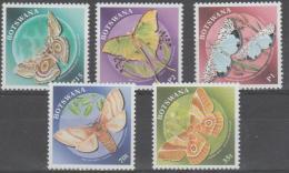 BOTSWANA - 2000 Moths/Butterflies. Scott 688-692.  MNH - Botswana (1966-...)
