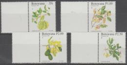 BOTSWANA - 1997 Christmas - Fruit, Flowers. Scott 651-654. MNH - Botswana (1966-...)