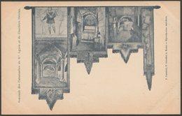 Souvenir Des Catacombes De Sainte-Agnes Et Du Cimetière Ostrien, Roma, C.1905 - Luzzietti U/B Cartolina - Roma (Rome)