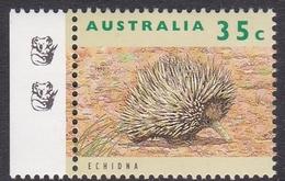 Australia ASC 1358b 1992 Australian Wildlife 35c Echidna, 2 Koalas Reprint, Mint Never Hinged - Proofs & Reprints