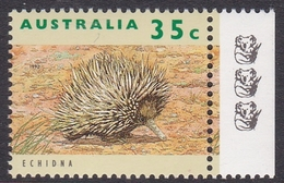 Australia ASC 1358c 1992 Australian Wildlife 35c Echidna, 3 Koalas Reprint, Mint Never Hinged - Proofs & Reprints