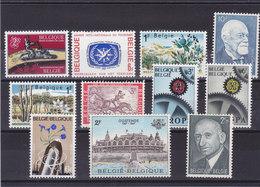 BELGIQUE 1967 Yvert 1406-1409 + 1413-1419 NEUF** MNH - Belgique