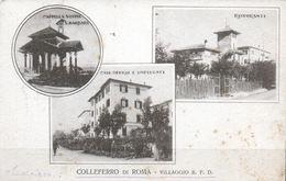 COLLEFERRO DI ROMA VILLAGGIO B. P .D. VIAGGIATA 1923 - Italia