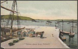 Customs House Quay, Falmouth, Cornwall, C.1905-10 - Woodbury Series Postcard - Falmouth