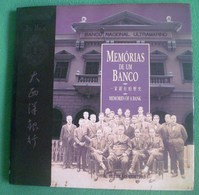 Macau - Memórias De Um Banco - Macao - China - Books, Magazines, Comics