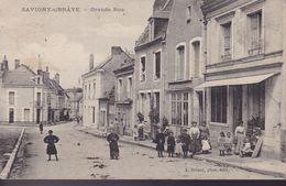 LOIR ET CHER – Savigny-sur-Braye – Grande Rue - Francia