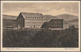 Realschule, Cham, Bayern, C.1920s - Baumeister AK - Cham