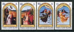 Turks & Caicos Islands 1983 Easter Set MNH (SG 740-43) - Turks And Caicos