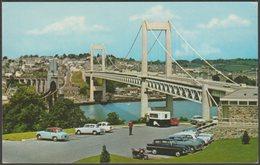 Tamar Bridge, Plymouth, Devon, C.1960s - Postcard - Plymouth