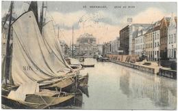 Bruxelles NA143: Quai Au Foin 1909 - Maritiem