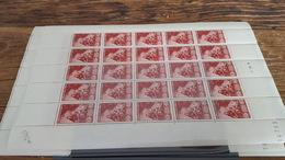 LOT 410064 TIMBRE DE FRANCE NEUF** LUXE FEUILLE N°763 VALEUR 16,5 EUROS BLOC - Feuilles Complètes