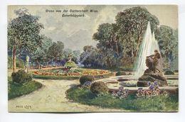 Gruss Aus Der Gartenstadt Wien. Esterhazypark. - Vienna
