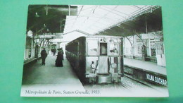 THEMES   METROPOLITAIN    PARISIEN   PHOTO CARTE   N° DE CASIER A5-98 - Taxis & Droschken