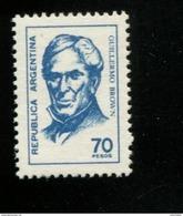 424120407 ARGENTINIE DB 1976 POSTFRIS MINTNEVER HINGED POSTFRIS NEUF YVERT 1068 - Argentine