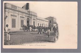 Paraguay Asuncion Laegation De France Ca 1905  OLD POSTCARD 2 Scans - Paraguay