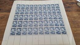 LOT 410092 TIMBRE DE FRANCE NEUF** LUXE FEUILLE N°669VALEUR 25 EUROS  BLOC - Ganze Bögen