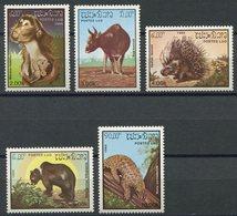 Laos 1985, Tiere, Animals, Animaux, Michel 846 - 850, ** (L-50) - Laos