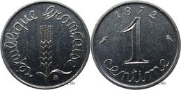 France - Ve République - 1 Centime Épi 1972 - TTB - Fra2888 - France