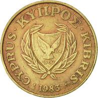 Monnaie, Chypre, 10 Cents, 1983, TTB+, Nickel-brass, KM:56.1 - Cyprus
