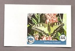 Privatpost - Nordkurier - Schmetterling, Butterfly ,papillon- Schwalbenschwanz (Papilio Machaon) - Schmetterlinge
