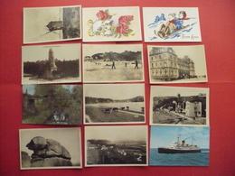 Lot De 120 Cartes Postales Anciennes Abîmées - Cartes Postales