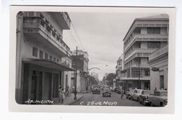 Paraguay Asuncion C 25 De Mayo Cars Ca 1930 OLD PHOTOPOSTCARD 2 Scans - Paraguay