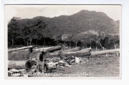Paraguay Cerro Pelado De Villarrica Ca 1930 OLD PHOTOPOSTCARD 2 Scans - Paraguay