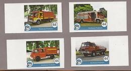Privatpost - Nordkurier - 4 Werte Feuerwehrauto, Fire Truck - Feuerwehr