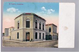 Paraguay Asunsion El Teatro Ca 1920 OLD POSTCARD 2 Scans - Paraguay