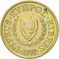 Monnaie, Chypre, Cent, 1992, SUP, Nickel-brass, KM:53.3 - Cyprus