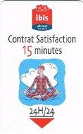 FRANCIA KEY HOTEL -  Ibis Accor Hotels Contrat Satisfaction 15 Minutes (man) - Hotel Keycards