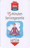 FRANCIA KEY HOTEL -  Ibis Accor Hotels 15 Minuten Servicegarantie - Hotel Keycards