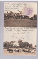 Paraguay Escenas Campestres 1910 OLD POSTCARD 2 Scans - Paraguay