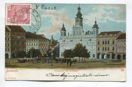 Budweis. Ringplatz Mit Rathaus - Czech Republic