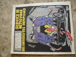 CHARLIE HEBDO - N° 497 Du 21 Mai 1980 - Couverture De Golo - Service De Nettoyage Des Universités Dépotoires - Journaux - Quotidiens