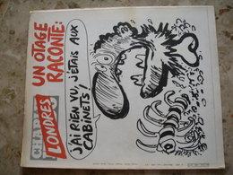 CHARLIE HEBDO - N° 495 Du 7 Mai 1980 - Couverture De Reiser - LONDRES, Un Otage Raconte: J'ai Rien Vu, J'étais Aux Cabin - Journaux - Quotidiens