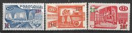 _5Sz-779 :N° TR331/33: De 3 Waarden Met Spoor Scharniertje... - 1952-....