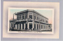 Paraguay Asuncion Colegio Evangelico Ca 1915 OLD POSTCARD 2 Scans - Paraguay