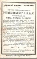 Beverloo - 1801-1881 - Petrus Henricus HERMANS - Images Religieuses