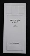 MODERN MUSE - ESTÉE LAUDER. TARJETA PERFUMADA. - Modernas (desde 1961)