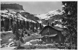 COL DU PILLON → Rest. Col Du Pillon Mit Oldtimer, Fotokarte Anno 1937 - VD Vaud