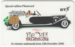 GREAT BRITAIN E-229 Chip BT - Cinema, Walt Disney, 101 Dalmatians - Used - United Kingdom