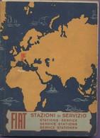 Livre - Fiat : Annuaire Des Stations Services - En Italien, Français, Anglais, Allemand - Tourisme, Voyages