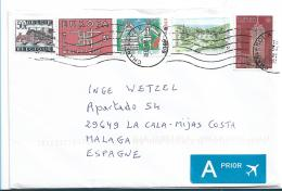 B396 / Bunte Frankatur 2018 Auf Brief - Briefe U. Dokumente