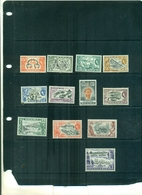 NIGERIA SERIE COURANTE ELISABETH II ET SUJETS DIVERS 12 VAL NEUFS A PARTIR DE 5 EUROS - Nigeria (...-1960)