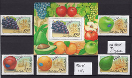 1994 - SOUTH AFRICA -  Mi. Nr. 4917/921 + BL 33 - NH - (UP121.5) - Nuovi