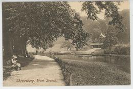 ROYAUME UNI - ENGLAND - SHREWSBURY , River Severn - Shropshire