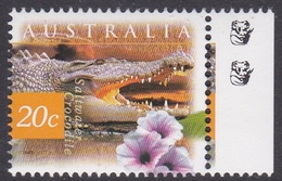 Australia ASC 1606b 1997 Nature Of Australia, 20c Saltwater Crocodile 2 Koalas, Mint Never Hinged - Proofs & Reprints